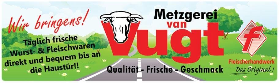 Metzgerei van Vugt Logo
